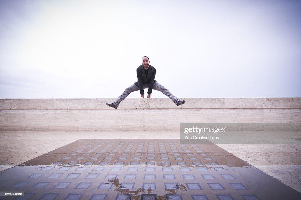Jump series : Foto stock