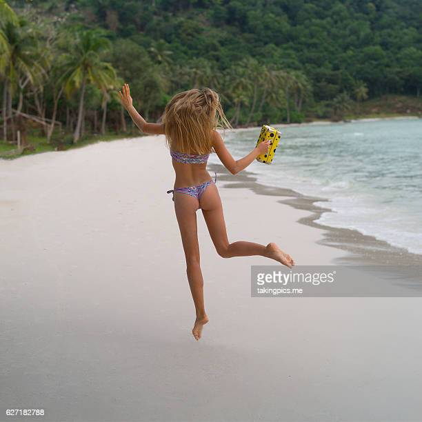 jump to paradise - pretty vietnamese women stock pictures, royalty-free photos & images