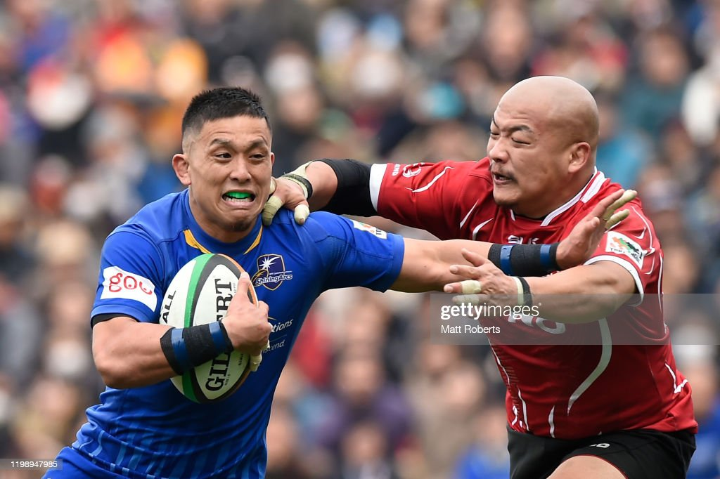 Hino Red Dolphins v NTT Communications ShiningArcs - Rugby Top League : ニュース写真