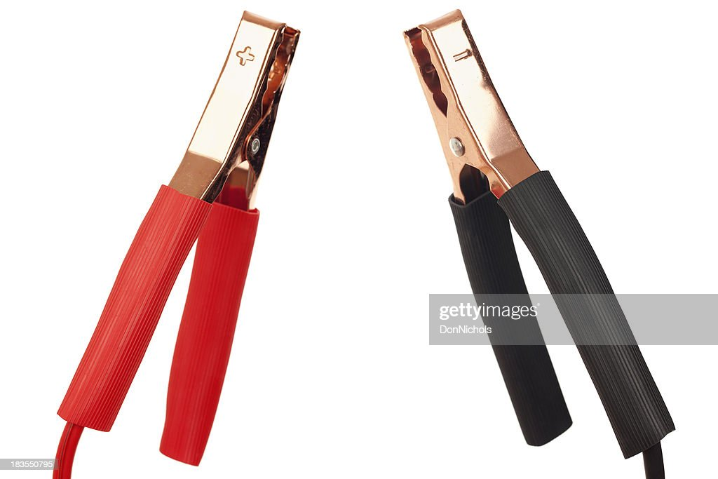 Jumper Cable Close-up : Stock Photo
