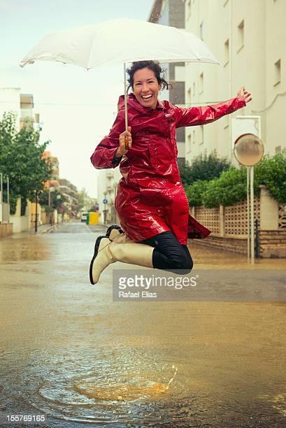 Jumpin' in the rain