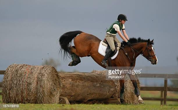 Jumping a Log