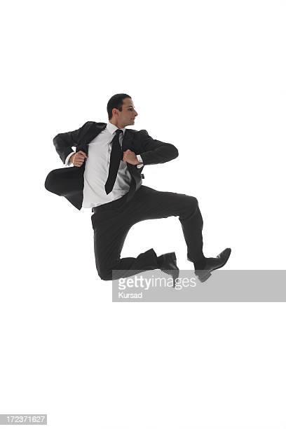 Jumping Bussinesman