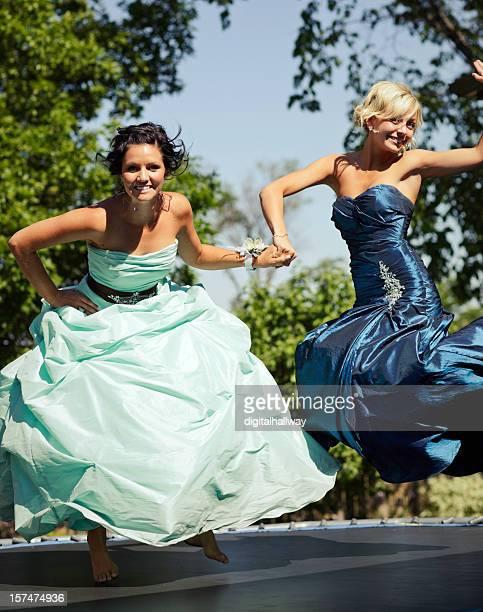 Jumping Duo Females