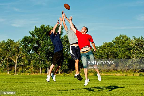 Jumping for Football