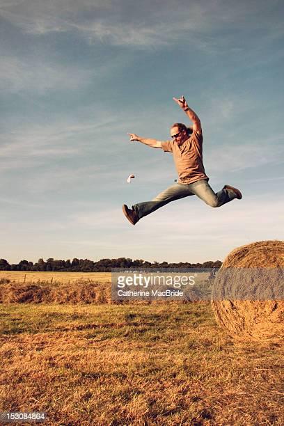 Jumping high as a kite