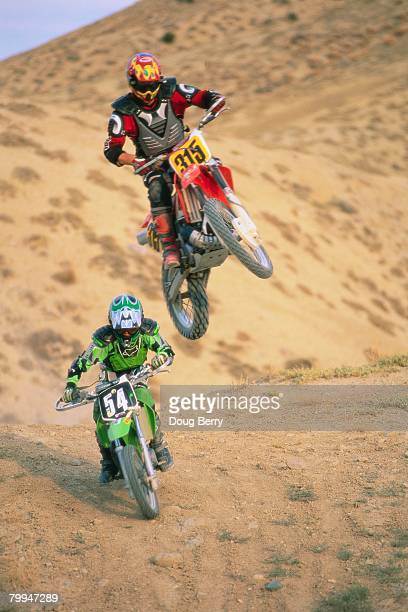 Jumping Motorcross Bike