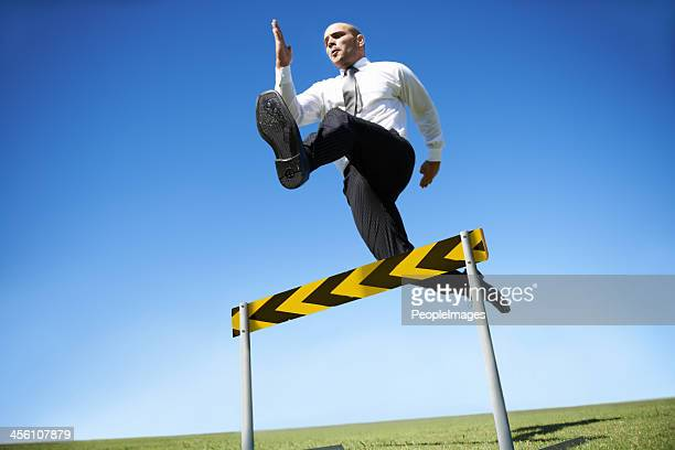 Jumping over business hurdles