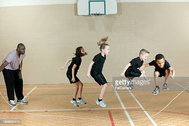 jumping rope - skipping along stock pictures, royalty-free photos & images