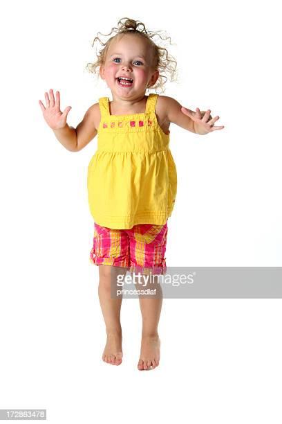 Jumping Toddler