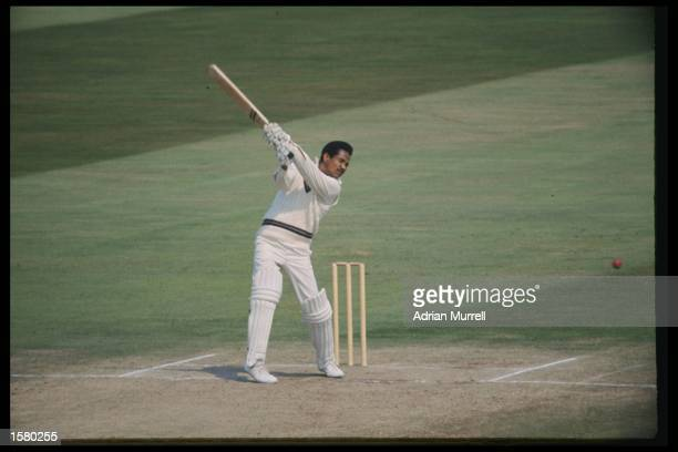 Gary Sobers of the West Indies in action against England. Mandatory Credit: /Allsport UK