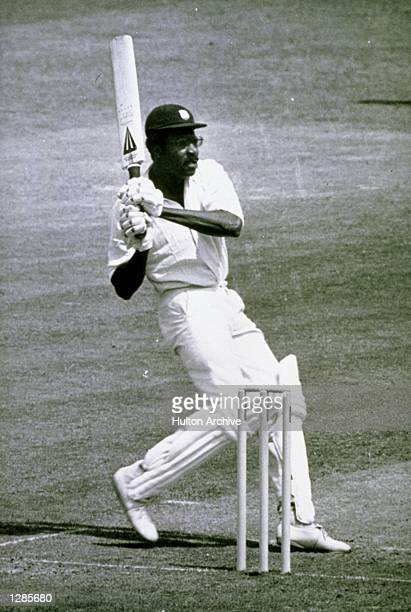 West Indies captain Clive Lloyd on his way to a century during the World Cup Final against Australia at Lords in London West Indies won by 17 runs...