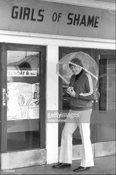 Gordon Brown of the British Lions gets away from it all during a break on the British Lions tour to New Zealand Mandatory Credit Adrian...