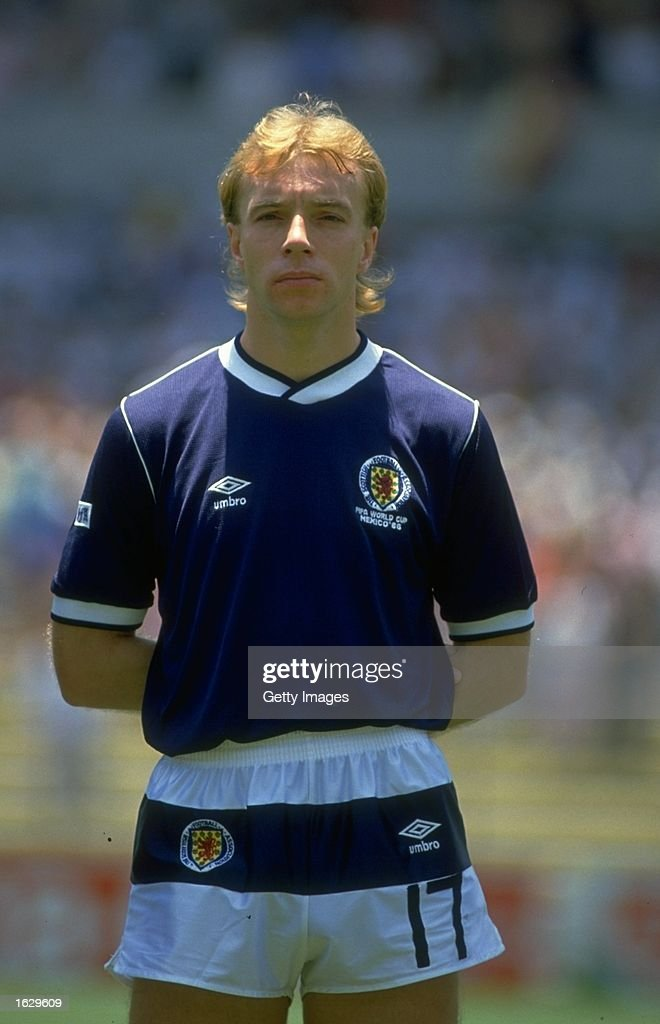 Steve Archibald of Scotland : News Photo