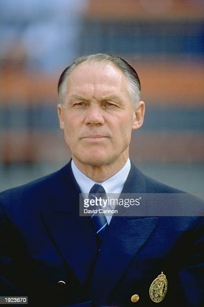 Portrait of Holland Manager Rinus Michels during the European Championship match against England at the Rheinstadion in Dusseldorf West Germany...