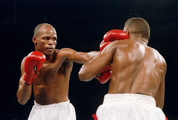 Image result for Felix Trinidad vs  Maurice Blocker