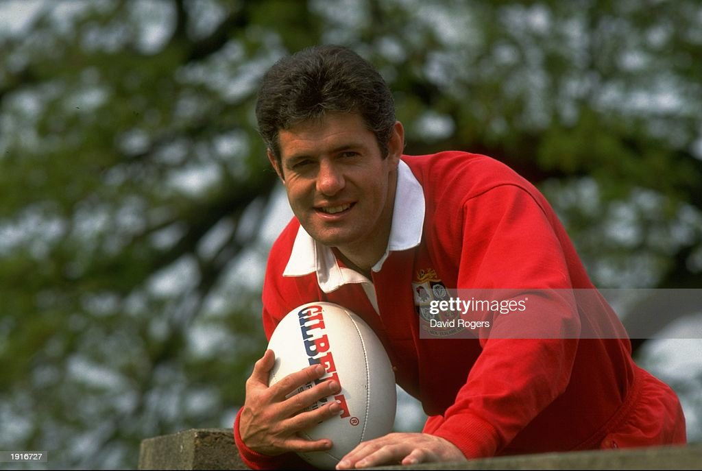 Portrait of Gavin Hastings the Captain of the British Lions during the Lions tour of New Zealand. : News Photo