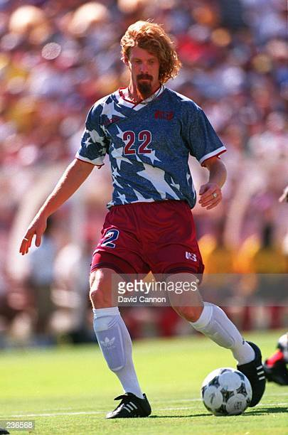 ALEXI LALAS OF THE USA IN ACTION DURING THE USA''S