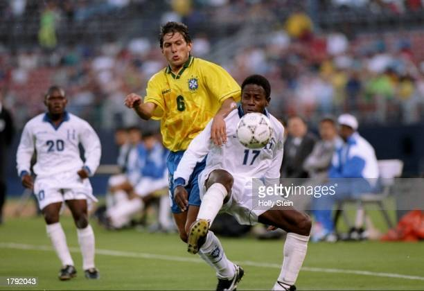 Leonardo of Brazil in action during a game against Honduras at Jack Murphy Stadium in San Diego California Brazil won the game 82 Mandatory Credit...