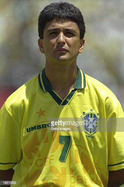 Portrait of Bebeto of Brazil before the World Cup match against Russia at the Stanford Stadium in San Francisco Califoria USA Brazil won the match 20...