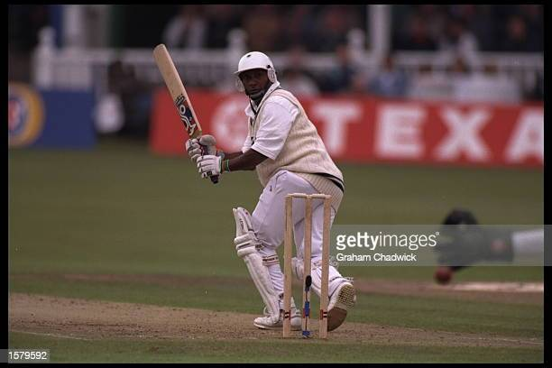 Aravinda De Silva batting for Kent against Somerset in the Benson Hedges semifinal