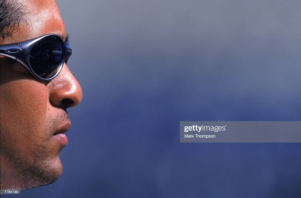 Portrait of Sachin Tendulkar of India during the First Test match against England played at Edgbaston, in Birmingham, England. \ Mandatory Credit: Mark Thompson /Allsport