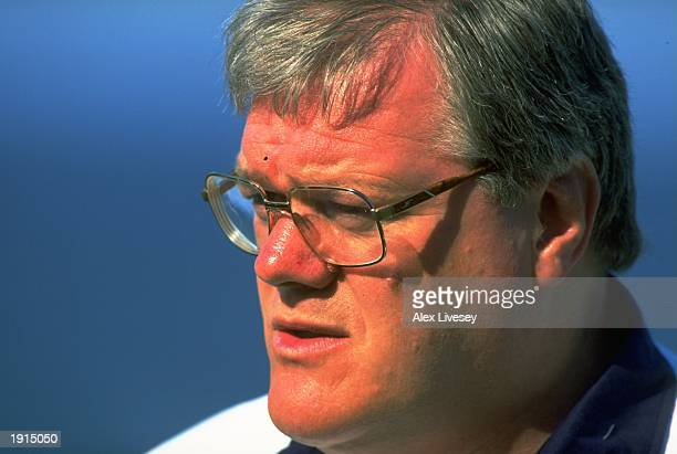 A portrait of Fran Cotton the British Lions Tour Manager during the tour of South Africa The Lions won the test series 21 Mandatory Credit Alex...