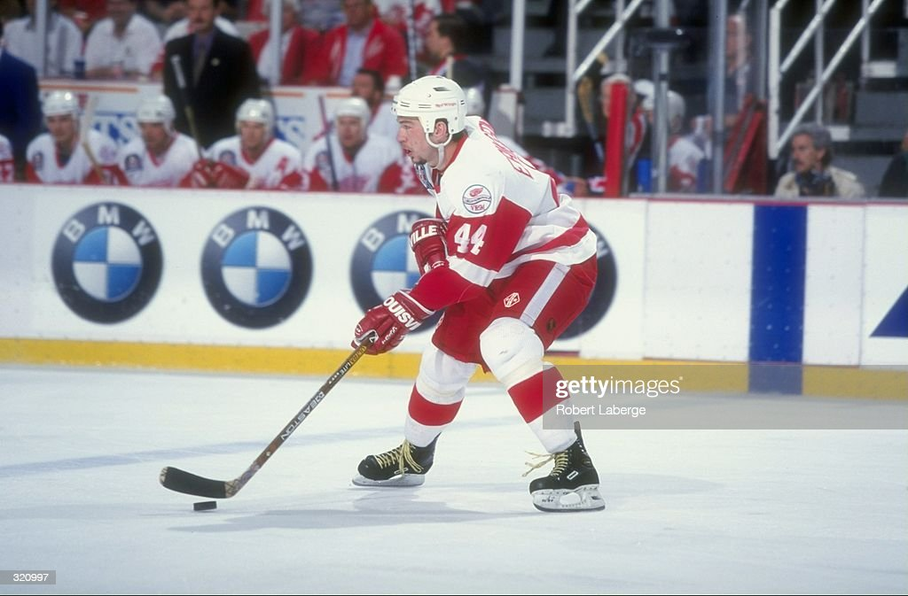 Anders Eriksson  44 of the Detroit Red Wings in action during a Stanley Cup  Finals 3ff2e0d27