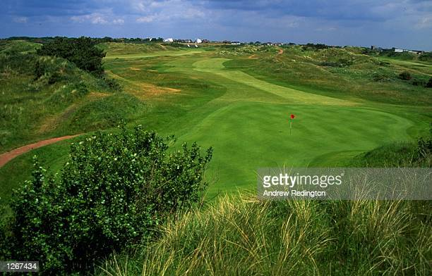 General view of the 347 yard, par 4, 11th hole at Royal Birkdale Golf Club in Lancashire, England. \ Mandatory Credit: Andrew Redington/Allsport