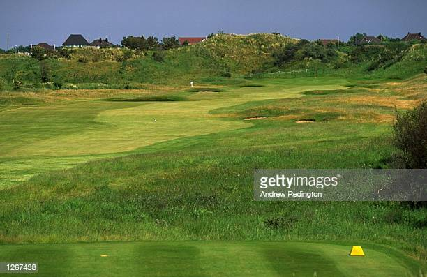 General view of the 422 yard par 4 13th hole at Royal Birkdale Golf Club in Lancashire England Mandatory Credit Andrew Redington/Allsport