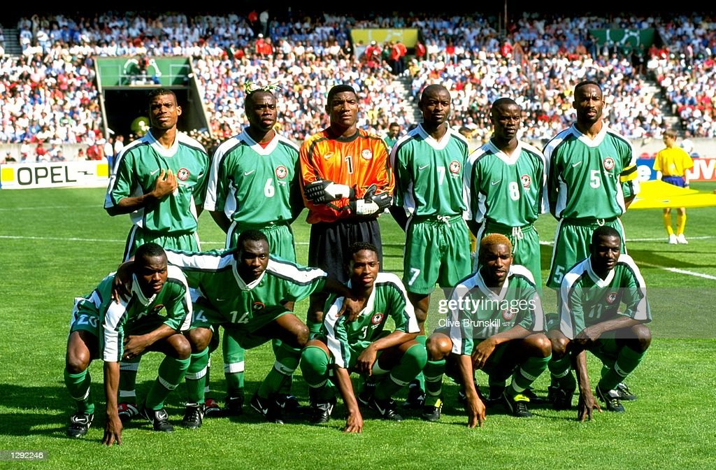 Nigeria teamgroup : Photo d'actualité