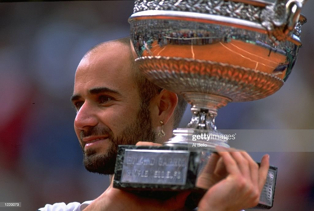 Andre Agassi : News Photo