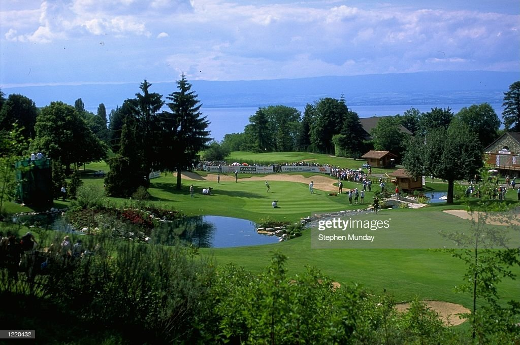 The 18th green : News Photo