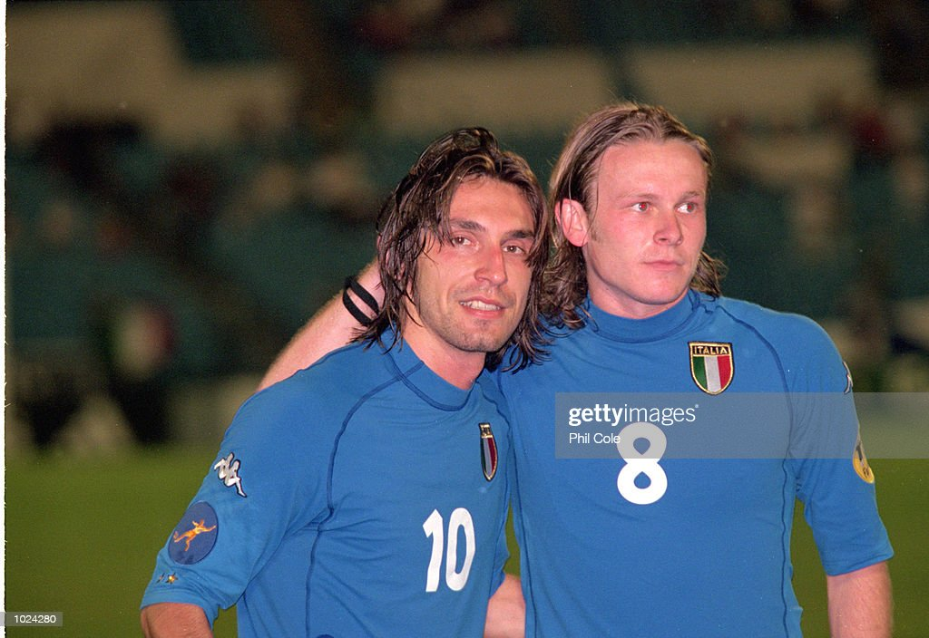 Andrea Pirlo, Roberto Baronio : News Photo