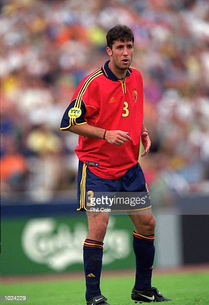 Capdevila of Spain in action during the European Under 21 Championships 2000 Third Place Playoff against Slovakia at the Inter Stadium Bratislava...