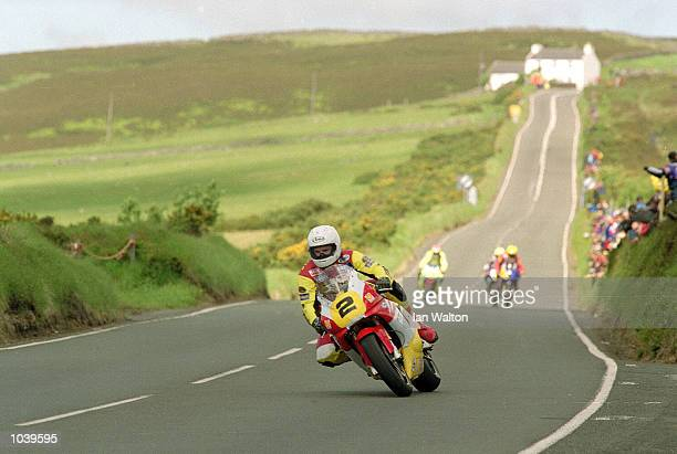 General view of CregnyBaa during the Isle of Man TT Races on the Isle of Man Great Britain Mandatory Credit Ian Walton /Allsport