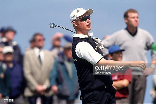 Mikko Ilonen of Finland in action during the British Amateur Championship held at the Royal Liverpool Golf Club in Hoylake England Picture taken by...