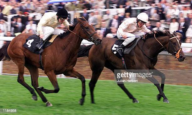 Pat Eddery and Papabile get the better of the Richard Hills ridden Mystify to land The London Clubs Rated Stakes run over 1 Mile at Ascot Mandatory...