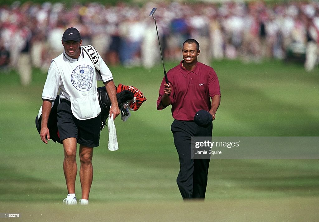Tiger Woods : News Photo