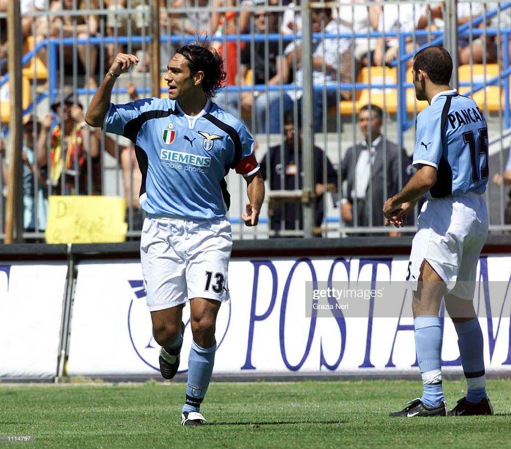 213 Alessandro Nesta Lazio Photos and Premium High Res Pictures ...