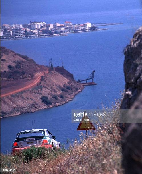Alistair McRae driving the Hyundai Accent during the Acropolis Rally part of the World Rally Championships in Grecce DIGITAL IMAGE Mandatory Credit...