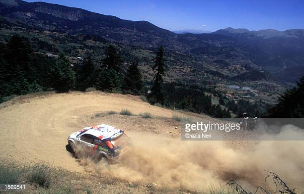 Colin McRae driving the Ford Focus during the World Rally Championships in Cyprus DIGITAL IMAGE Mandatory Credit Grazia Neri/ALLSPORT