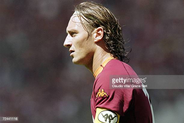 Francesco Totti of Roma during the Serie A match against Parma at the Stadio Olimpico in Rome Roma won 31 to take the Scudetto Mandatory Credit...