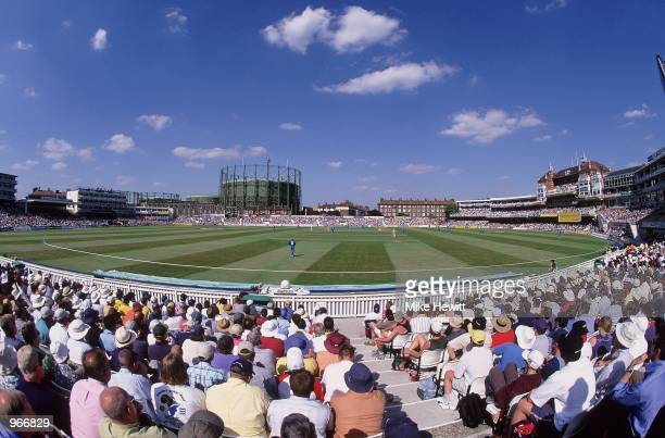 General view during the Natwest One Day Series match between England and Australia played at Kennington Oval, in London. \ Mandatory Credit: Mike...