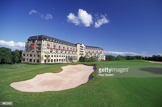 General view of the Celtic Manor Golf and Country Club in Newport Wales Mandatory Credit Paul Severn /Allsport