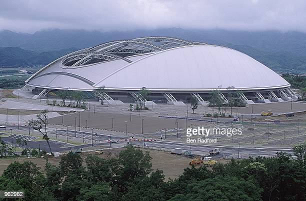 General view of the Oita Main Stadium in Oita Japan one of the venues for the 2002 World Cup Mandatory Credit Ben Radford /Allsport