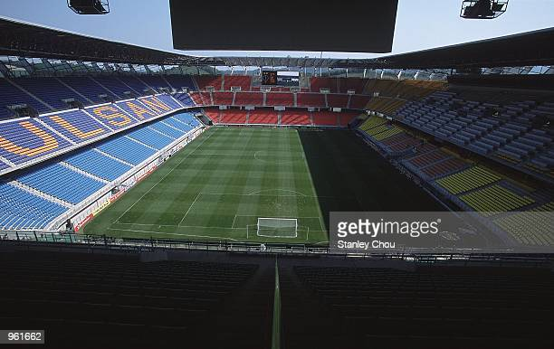 General view of the Ulsan Munsu Football Stadium in Ulsan, Korea, one of the venues for the 2002 World Cup. \ Mandatory Credit: Stanley Chou /Allsport