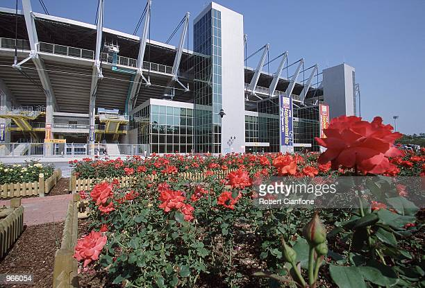 General view of the Ulsan Munsu Football Stadium in Ulsan, Korea, one of the venues for the 2002 World Cup. \ Mandatory Credit: Robert Cianflone...