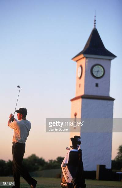 Phil Mickelson hits a long drive during the 101st US Open at the Southern Hills Country Club in Tulsa, Oklahoma.Mandatory Credit: Jamie Squire...