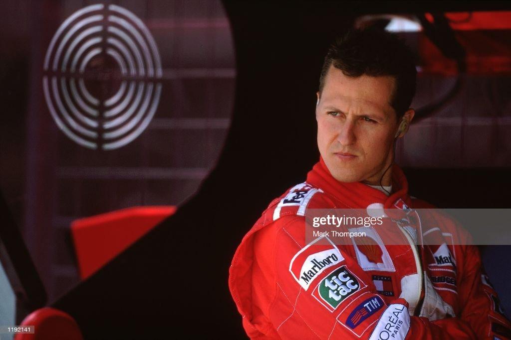 Portrait of Ferrari driver Michael Schumacher before the Formula One Canadian Grand Prix in Montreal, Canada. \ Mandatory Credit: Mark Thompson /Allsport